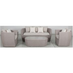 Mandy 4pce Outdoor Lounge Set