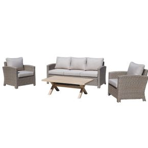 Leon 4 Piece Lounge Set