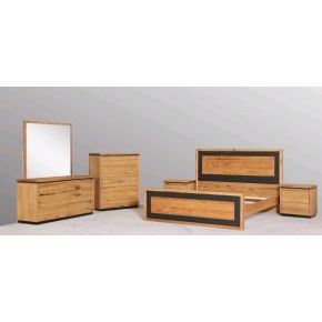 Donvale 4 Piece Marri Timber Queen Bedroom Set