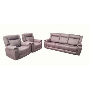 Alberta 3 Piece Electric Reclining Lounge Set