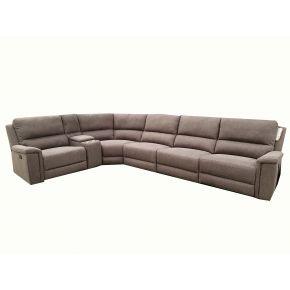 Arden Fabric Reclining Corner Lounge