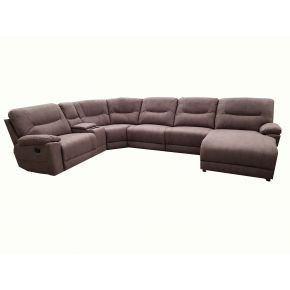 Aveley 5 Seater Reclining Corner Modular Lounge