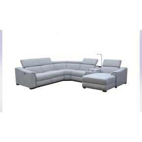 Avis Electric Reclining Lounge with Chaise