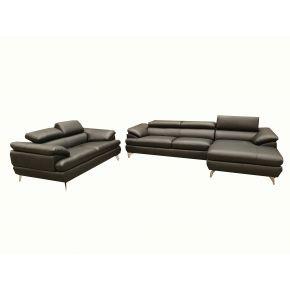 Boston Leather Lounge Set
