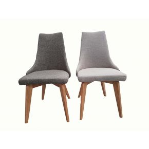 Brec Fabric Upholstered Dining Chairs