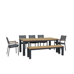 Clay 7pce Outdoor Dining Set