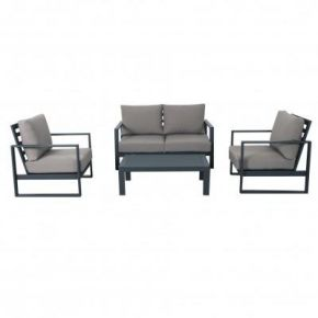 Colada 2 Seater and 2 Singles Outdoor Lounge