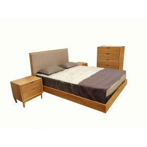 Denmark Floating Queen Size Bedroom Set
