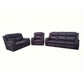 Danny 3+2+1 Electric Reclining Lounge Set