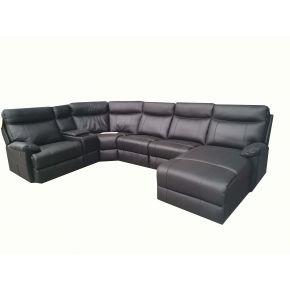 Gilbert Leather Corner Lounge