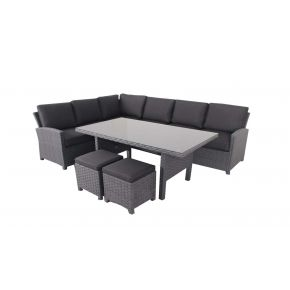 Faro Outdoor Lounge and Dining Combination Set