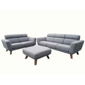 Gallery 3+2+Ottoman Fabric Lounge Set