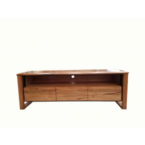 Henrick 3 Drawer Marri Timber TV Unit