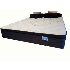 Huron Black Queen Mattress