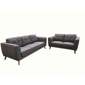 Justin 3+2 Seater Fabric Lounge