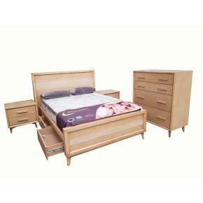 Karen 3 Piece Queen Size Bedroom Set