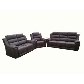 Lonah 3+2+1 Reclining Lounge Set
