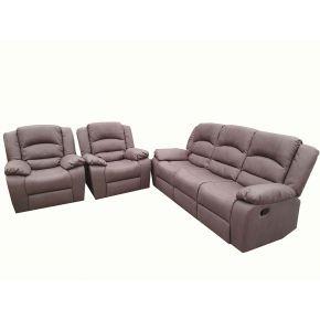 Martin 3 Piece Reclining Lounge Set