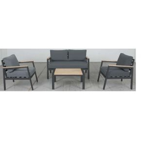 Mayfair 4 Piece Outdoor Lounge Set