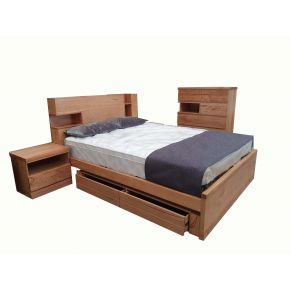 Memphis 4pce Queen Bedroom Set