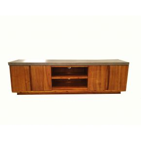 Montreal Blackwood Timber TV Unit