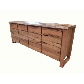 Monte Natural Edge Marri timber 4 Door Buffet