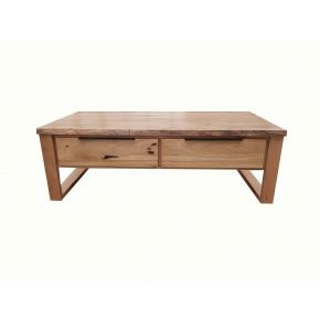 Monte Natural Edge Marri Timber Coffee Table