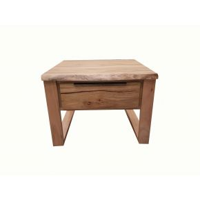 Monte Natural Edge Marri Timber Lamp Table