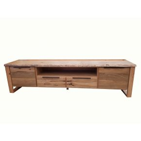Monte Natural Edge Marri Timber TV Unit