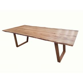 Monte Natural Edge Marri 2400 Dining Table
