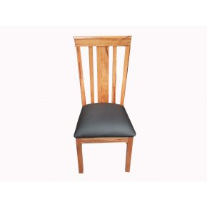 Utah Wide Back Marri Timber Dining Chair