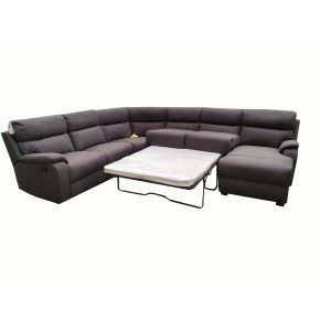 Port 6 Seater Reclining Sofabed Lounge