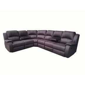 Royalton 6 Seater Fabric Corner Lounge