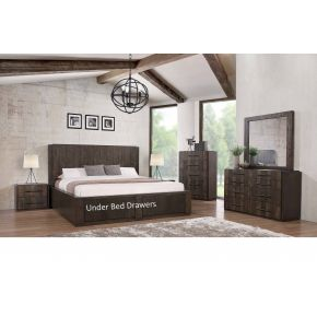 Toledo 4 Piece King Size Bedroom Set