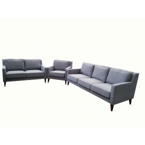 Toulousse 3+2+1 Seater Fabric Lounge Set