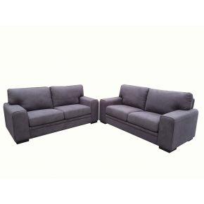 Vegas 2 x 2 Seater Fabric Lounge Set