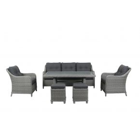Wilson 6 pce Outdoor Lounge Set